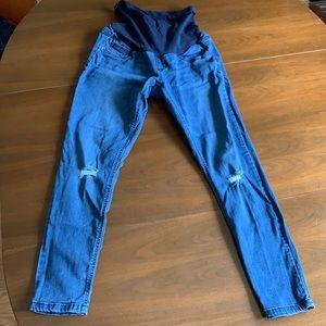Motherhood maternity full Panel jeans